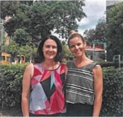 Briana Watson & Jennifer Clarke - Suzhou Singapore International School