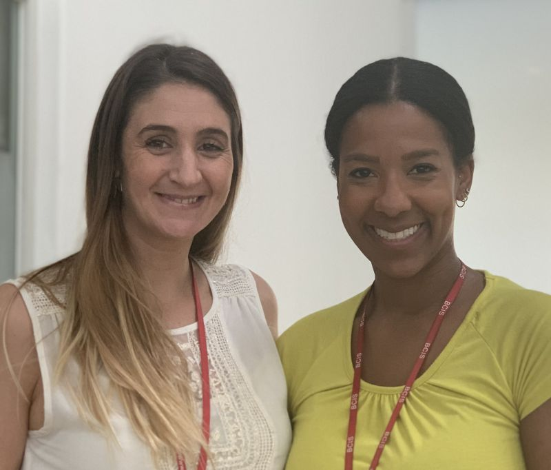 Ines Suanzes & Shardea Brown - Beijing City International School